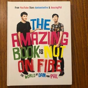 HARDCOVER the amazing book is not on fire